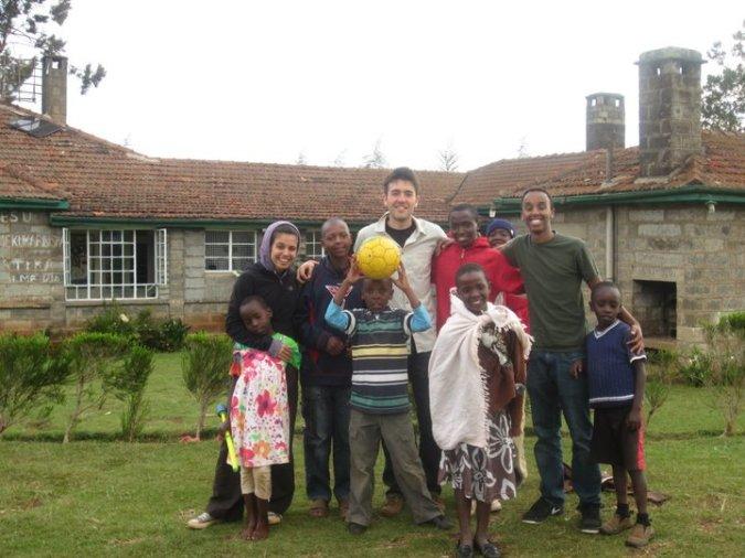 the school fund, kenya, flying kites