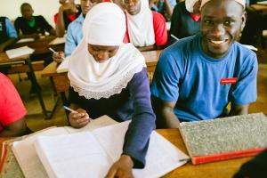 Educate! lesson at Kampala High School (1)