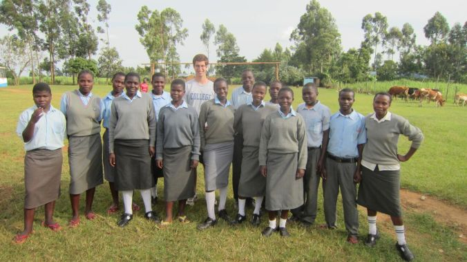 alex and students